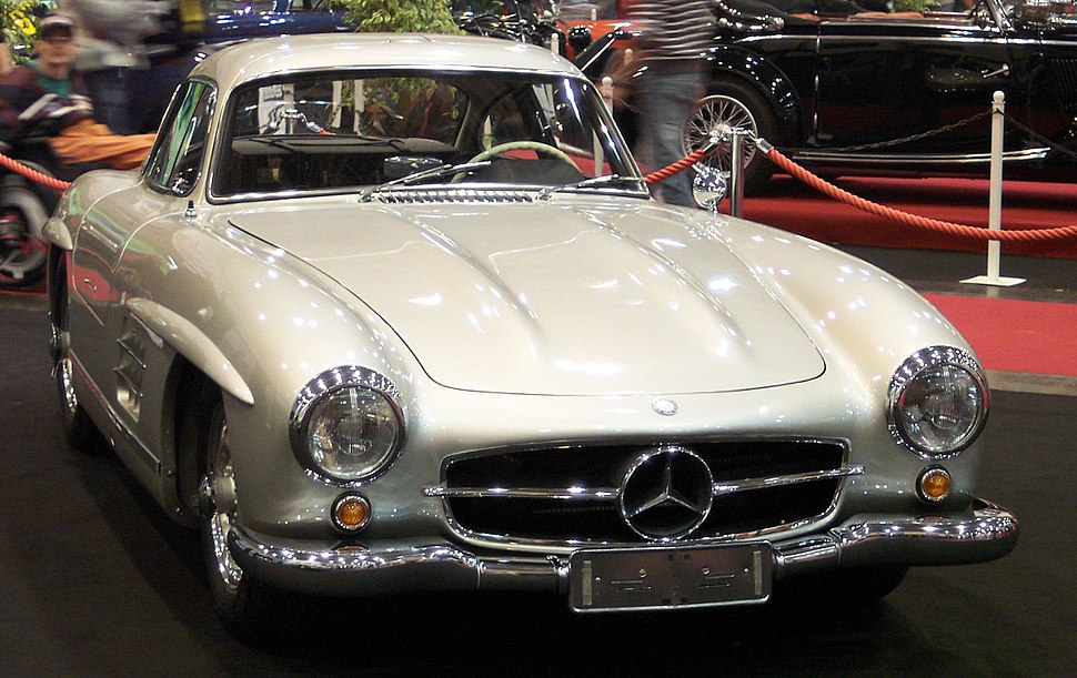 Mercedes 300SL Coupe vr silver EMS