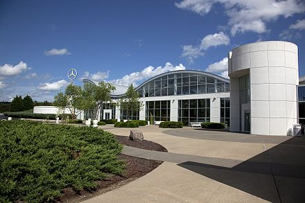 Mercedes-Benz U.S. International in Tuscaloosa County was the first automotive facility to locate within the state. Mercedes Benz US International 01.jpg