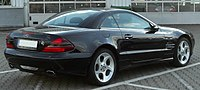 Mercedes SL Edition 50 (R230) rear 20100717.jpg