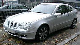 Mercedes W230 Coupe front 20071102.jpg