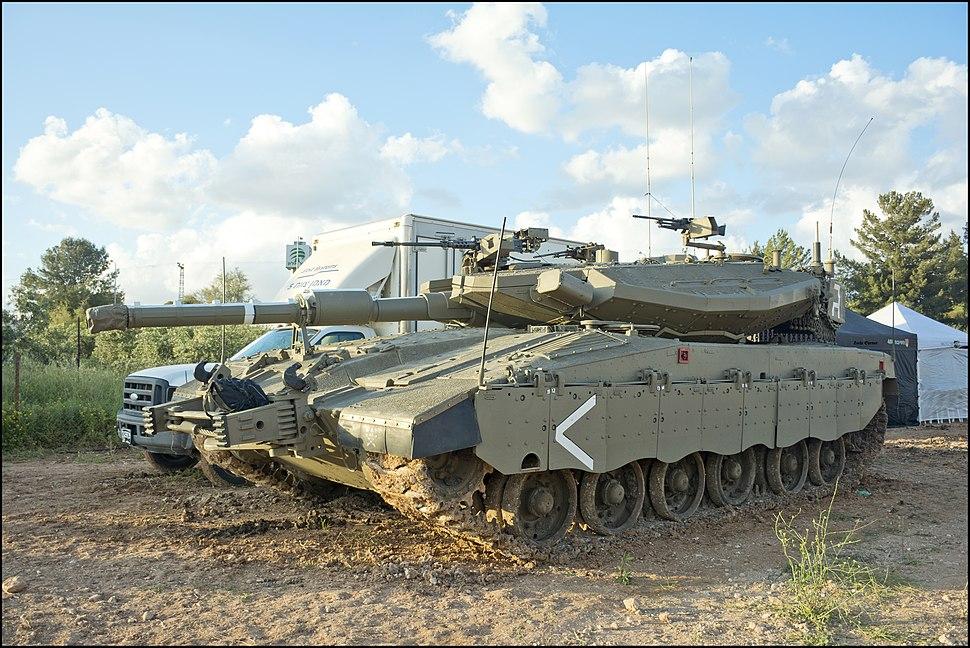 Merkeva Mk 3D - Israeli Tanks 2019-04-21 IZE-36