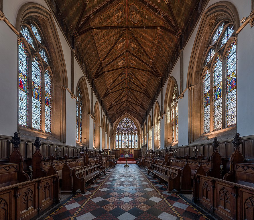 File Merton College Chapel Interior 1 Oxford Uk Diliff