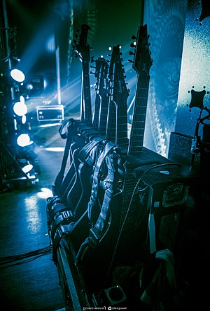Fredrik Thordendal - Meshuggahs guitars used live 2016