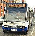 Metro (Belfast) bus 1923 (VOI 203) 2005 Optare Solo M920SL, 22 April 2009.jpg