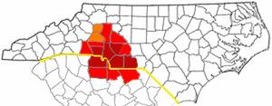 Charlotte metropolitan area - Image: Metrolinamap