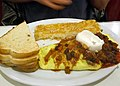 Mexican omelette at Lori's Diner (13859442183).jpg