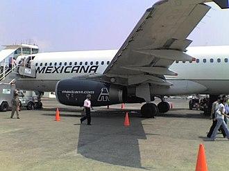 Mexicana de Aviación - A Mexicana A320 at Veracruz International Airport