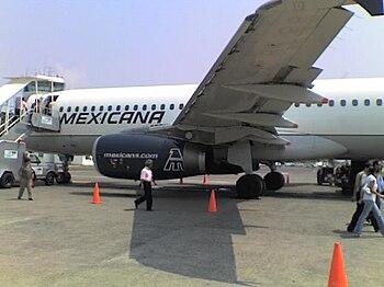 Mexicana A320 VER