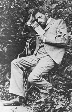 Vsevolod Meyerhold - Meyerhold preparing for the role of Treplev for the Moscow Art Theater 1898 production of The Seagull by Anton Chekhov