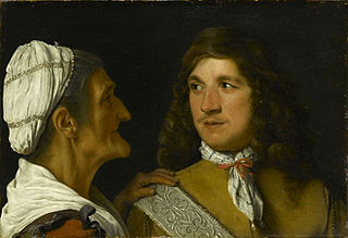 Young Man and a Procuress
