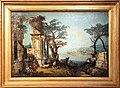 Michele marieschi, capriccio con arco classico e capre, 1740-45 ca.jpg