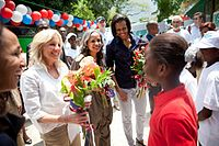 Michelle Obama and Jill Biden in Haiti 2010.jpg