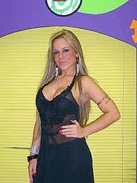 "Michelle a.k.a. ""Bandida do amor "" - Former Miss Brazil.jpg"