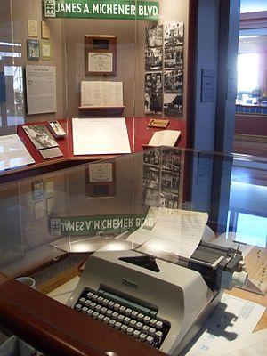 James A. Michener Art Museum - Michener memorabilia