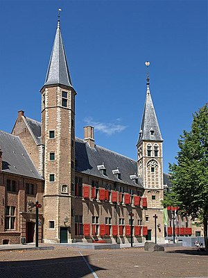 States of Zeeland - Image: Middelburg Abtei 1