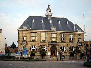 Middelkerke - Image: Middelkerke Town hall 1