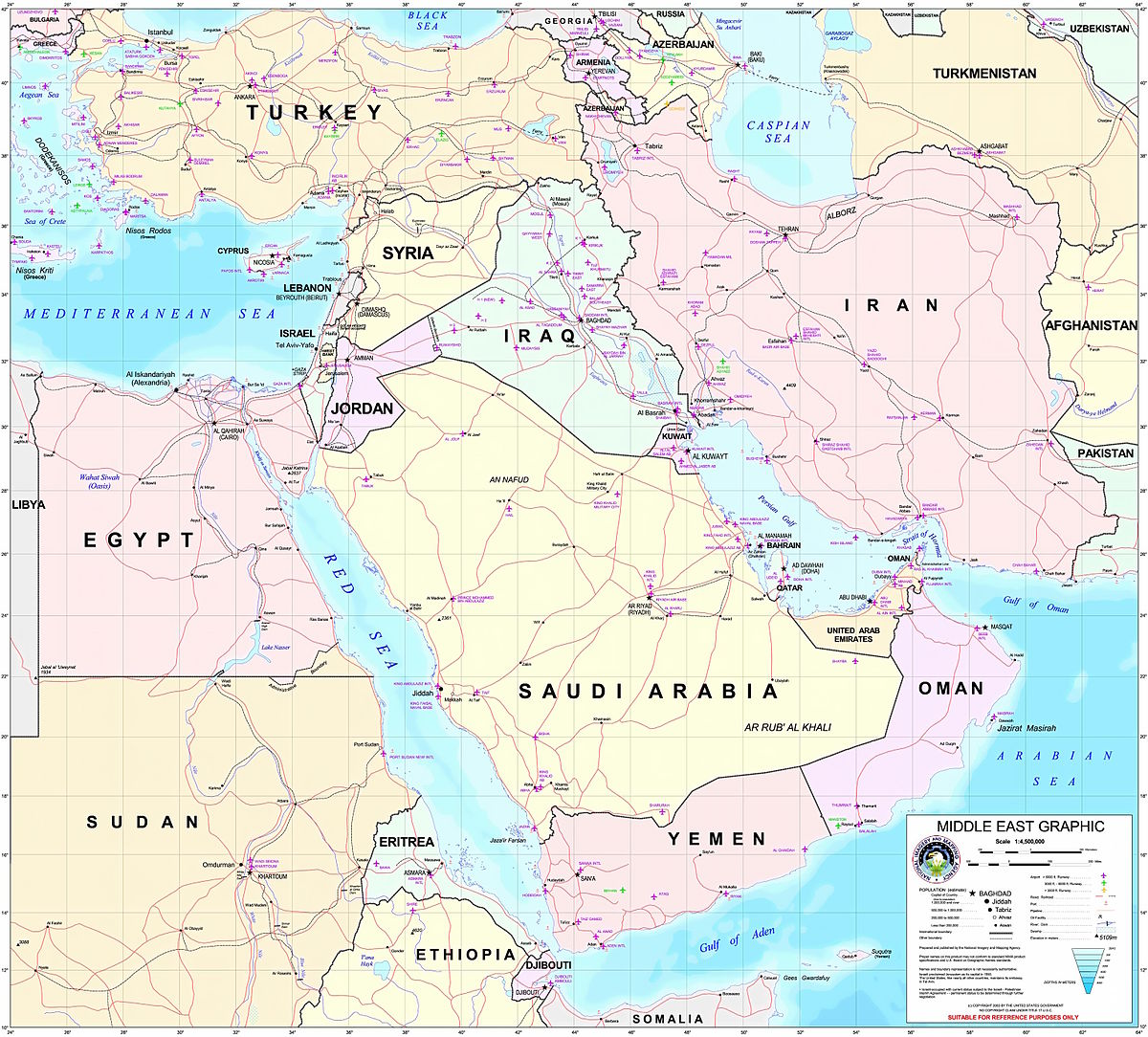 List Of Modern Conflicts In The Middle East Wikipedia - Middle east political map 1900