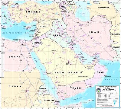 közel kelet térkép Közel Kelet – Wikipédia közel kelet térkép