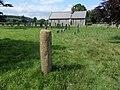 Middleton Roman Milestone & Holy Ghost Church, Middleton, Lonsdale, Cumbria.jpg