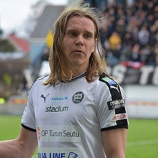 Mika Ääritalo Finnish footballer