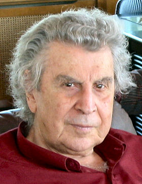 Mikis Theodorakis is one of the most popular and significant Greek songwriters Mikis2004.jpg