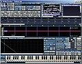 Un logiciel Tracker typique (Milkytracker)