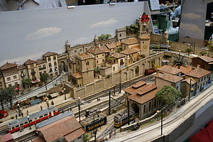 H0m gauge - A H0m layout set in Portugal