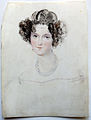 Miniatur, August Grahl, unknown Lady 2, Ivory.jpg