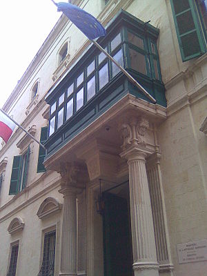 Ministry for Foreign Affairs (Malta) - Image: Ministry of Foreign Affairs, Malta