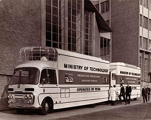 Minister of Technology - Ministry of Technology mobile cinema 1967