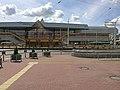 Minskas Railway Station vulica Babrujskaja Minsk.JPG