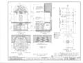 Mission San Francisco de Asis, Mission and Sixteenth Streets, San Francisco, San Francisco County, CA HABS CAL,38-SANFRA,1- (sheet 25 of 39).png