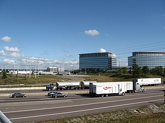 Meadowvale, Ontario - Image: Mississauga Road and Highway 401