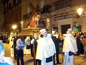 Holy Week procession - Holy Week procession in Taranto (Italy)