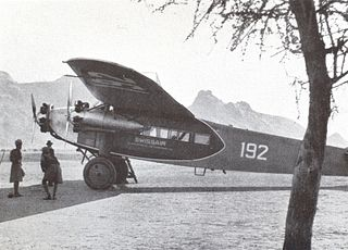 Fokker F.VII transport aircraft family
