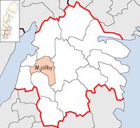 Mjölby Municipality in Östergötland County.png