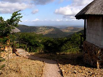 Mlawula Nature Reserve - View from Magadzevane Camp on the Lubombo mountains