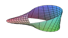 Moebius strip definition