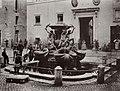 Molins, Pompeo - Die Piazza Mattei mit der Fontana delle Tartarughe (Zeno Fotografie).jpg