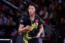 Mondial Ping -Women's Singles - Quarterfinal - Wu Yang-Li Xiaoxia - 19.jpg