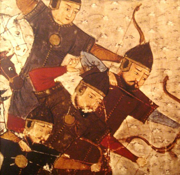 ملف:Mongol soldiers by Rashid al-Din 1305.JPG