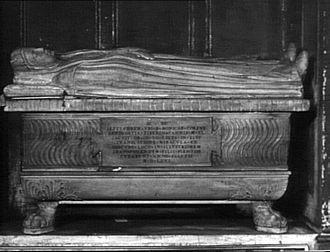 Saint Monica - Saint Monica's tomb, Basilica di Sant'Agostino, Rome