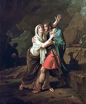 Julius Sabinus - Éponine et Sabinus (1802) by Nicolas-André Monsiau