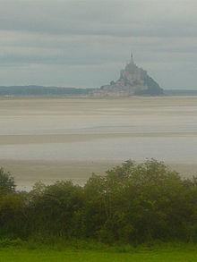 Episode du siège du Mont St.-Michel dans Bretagne
