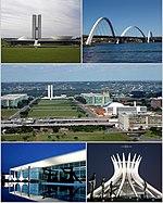 Brasilia, a capital do Brasil.