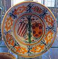 Montelupo, piatto con stemma medici-salviati, 1510 ca..JPG