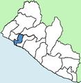 Montserrado County Liberia locator.png