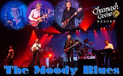 The Moody Blues live i the Chumash Casino Resort in Santa Ynez, Kalifornien, 2005