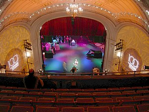 Moore Theatre - Interior of the Moore Theatre on the occasion of its 100th anniversary celebration, 2007