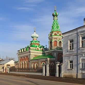 Morshansk - Image: Morshansk (Tambov Oblast) 03 2014 img 02 Assumption Church